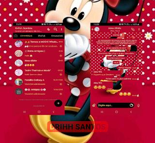 Mickey Cute Theme For YOWhatsApp & Fouad WhatsApp By Driih Santos