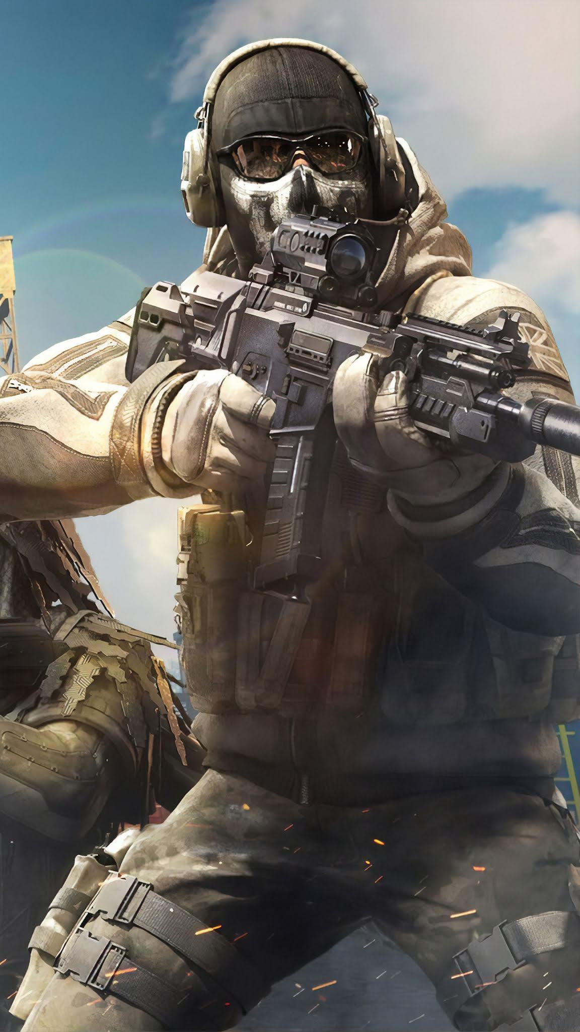 Gun Battlefield Call Of Duty Mobile Wallpaper Game Battlefield