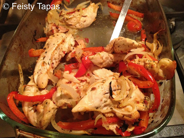 Recipe: Really easy chicken fajitas a la Feisty Tapas