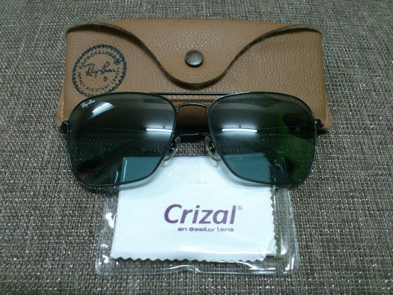 8a41be4d03e Ray Ban Caravan RB3136-W3338 Black Green Classic G-15 55mm Lens Sunglasses  on