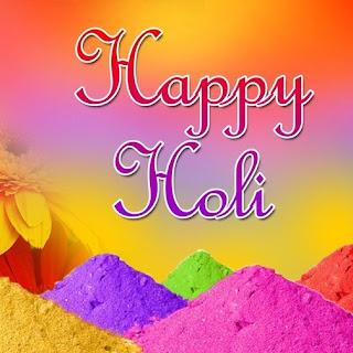 Beautiful Holi Profile Pic