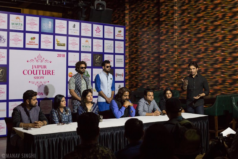 Second Look Launch of Jaipur Couture Show - Season 5