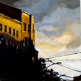 Häuserfassaden Modern edward b gordon grauer himmel