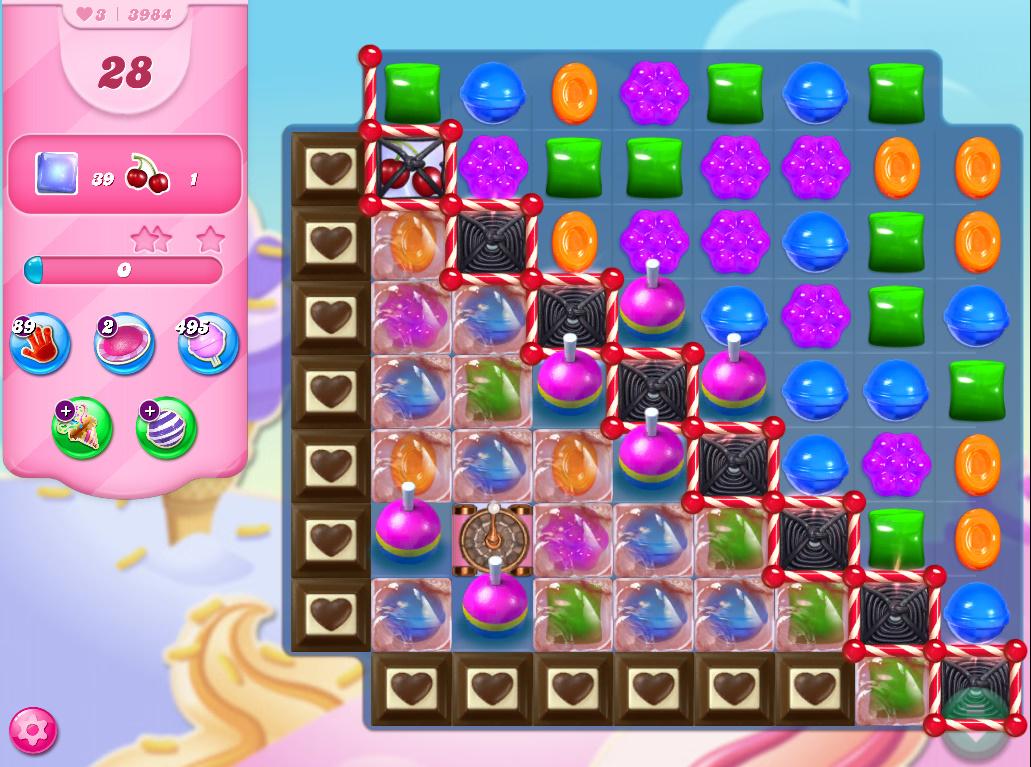 Candy Crush Saga level 3984