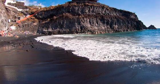 Playa de la Zamora, La Palma