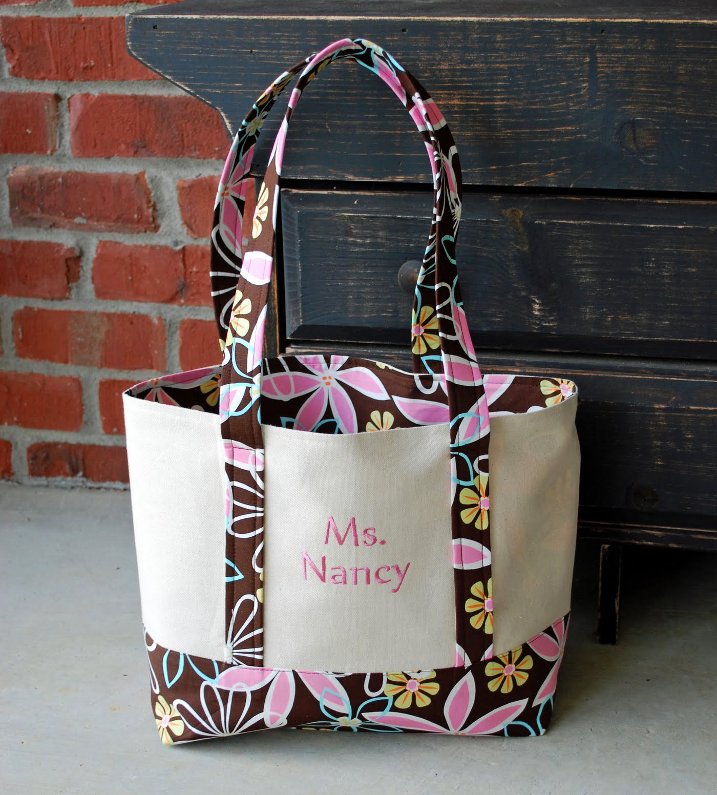 Tote Bag Free Tutorial