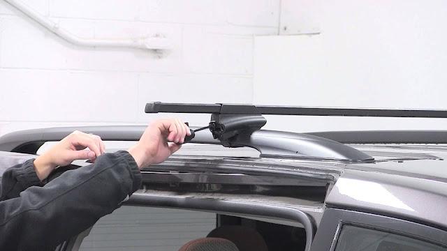 Comment enlever les barres de toit