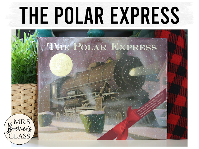 The Polar Express book study Christmas literacy unit with Common Core aligned companion activities and a craftivity for K-1