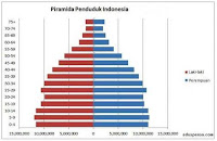 Pyramida Penduduk Indonesia