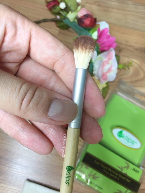 eklips travel bamboo fırça seti