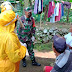 Babinsa Aktif Putuskan Mata Rantai Penyebaran Covid-19 di Wilayah Binaannya
