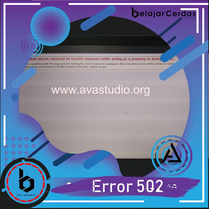 "Cara Mengatasi ""Error 502"" Exambro Client ANBK 2021"
