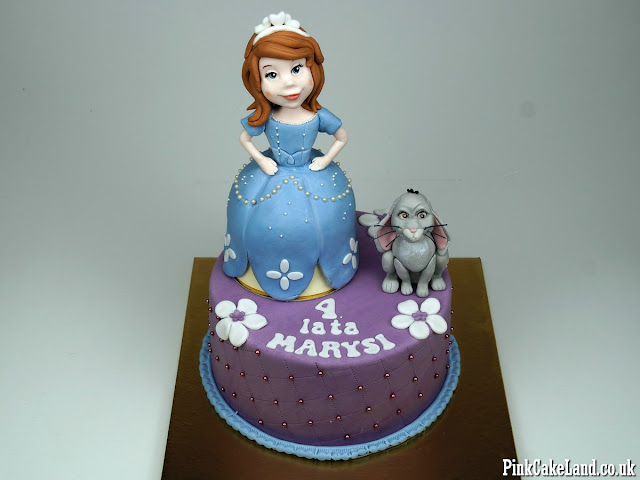 Sofia the First Cakes London