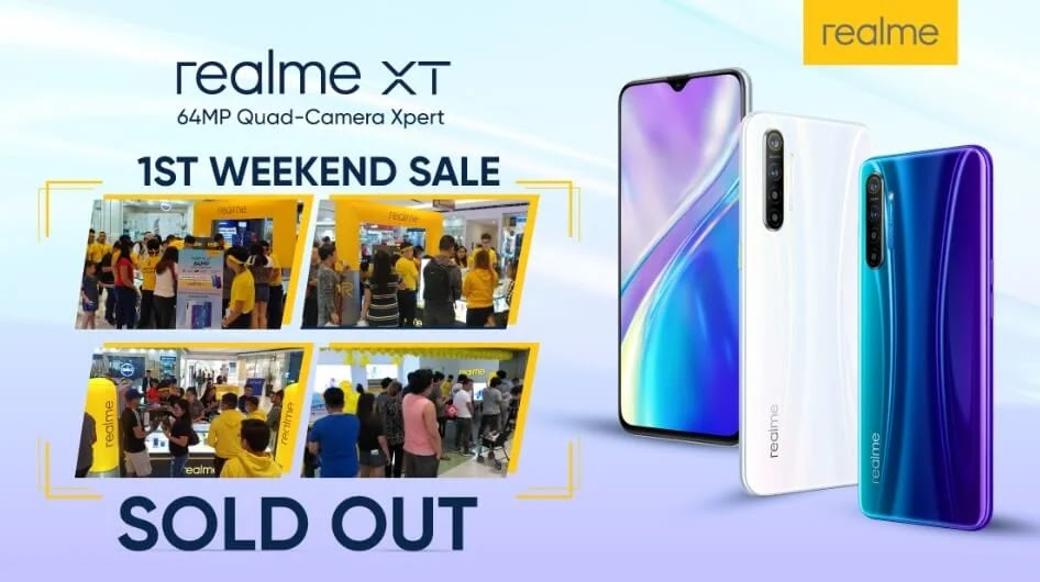 Realme XT Sold-Out On First Weekend Sale