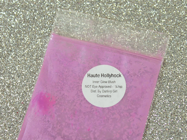 Darling Girl Daily: Haute Hollyhock Inner Glow Blush Swatches & Review