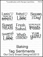 ODBD Baking Tag Sentiments