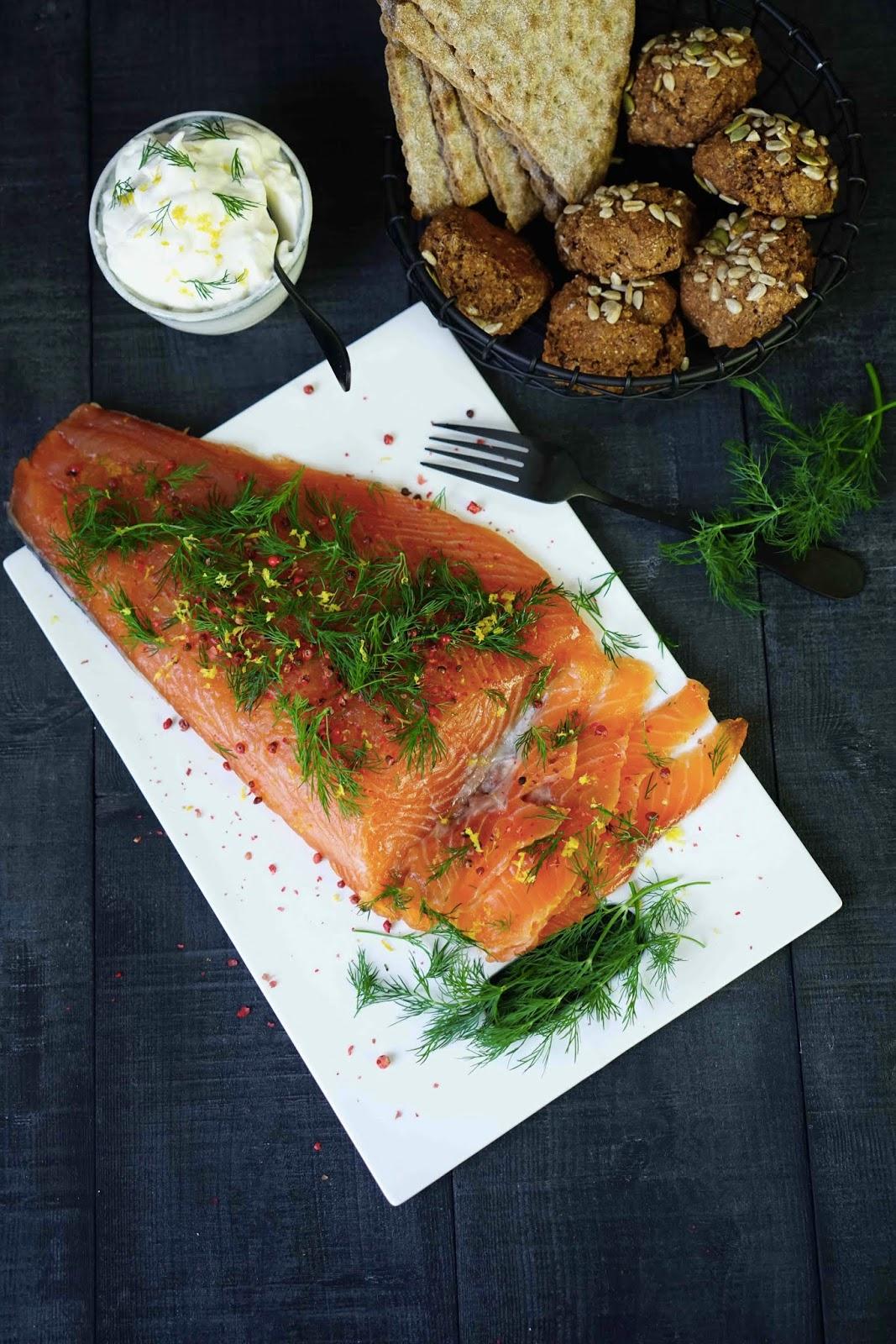 gravlax , entrée pratique ,recettes de Noel , saumon mariné