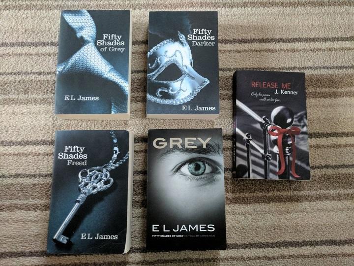 'Fifty Shades of Grey', Novel Pemecah Rekor Terlaris Sepanjang Sejarah