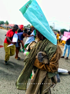Deranged Woman Supports #EndSARS Protest In Jalingo