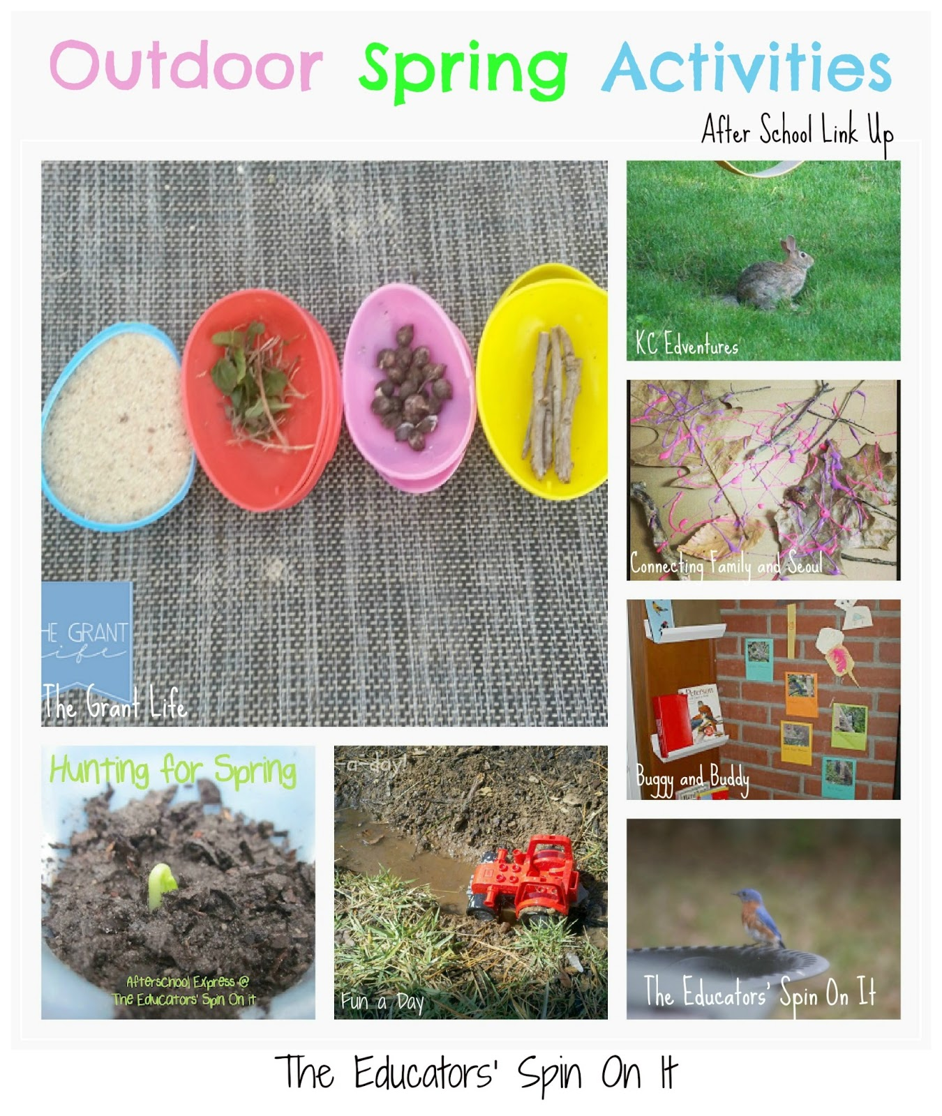 Featured 5 Spring Projects: The Educators' Spin On It: Outdoor Spring Activities