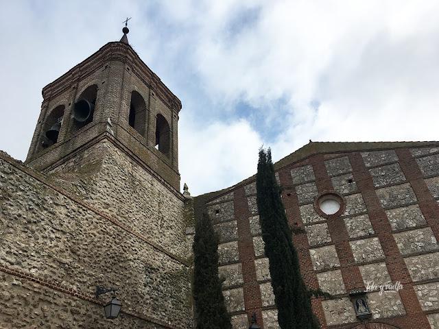 Exterior iglesia de San Miguel Olmedo