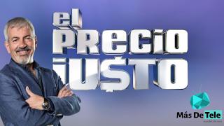 Carlos Sobera presenta 'El Precio Justo' en Telecinco