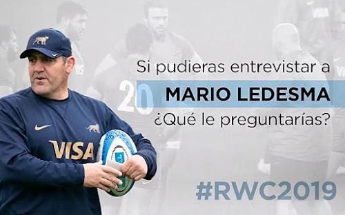 Rumbo a Japón: Mario Ledesma responde #RWC2019