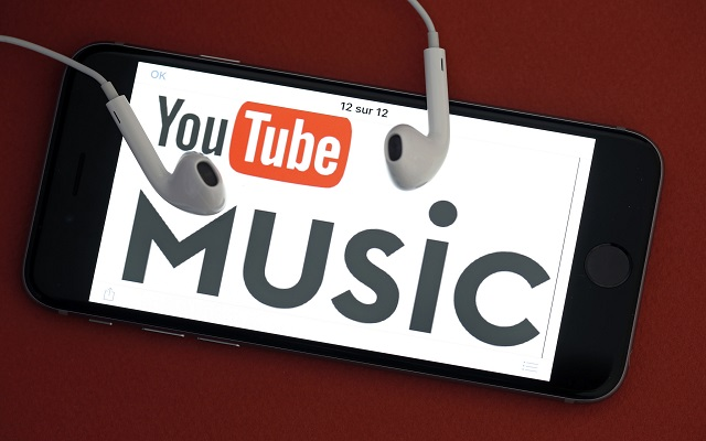 Music stored on your phone can now be played on the YouTube Music