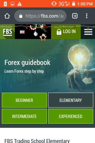 capture d'écran Forex