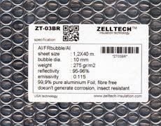 ZT-03BR Al/FRBubble/Al