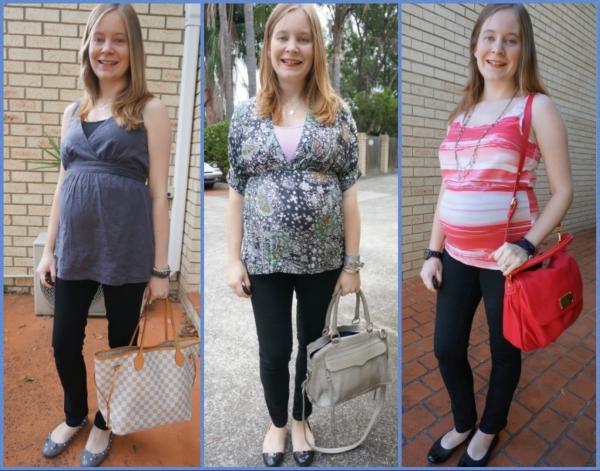 AwayFromBlue | Jeanswest Black Maternity Skinny Jeans in 2nd Trimester