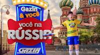 Promoção Gazin & Você na Rússia vocenarussia.com.br