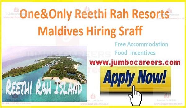 Luxury Hotels & Resorts in Maldives, Hotel Management Jobs Maldives