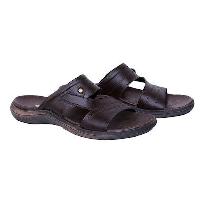 Sandal Kulit Pria Catenzo TU 045