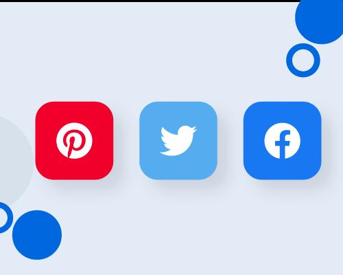 إضافة أزرار مشاركة على مواقع التواصل الإجتماعى