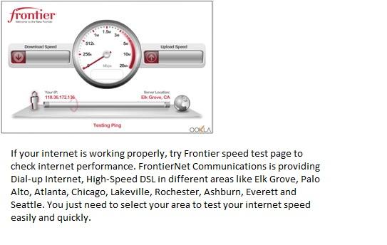 Speed Test Frontier >> Best Of Internet Frontier Speed Test