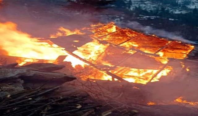 हिमाचल में आग का तांडव जारी: सोलन और मंडी से सामने आई घटनाएं; 3 मकान राख