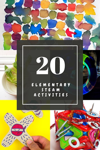 20 Low Prep and Cheap Elementary STEAM and STEM activities you can do with kids at home