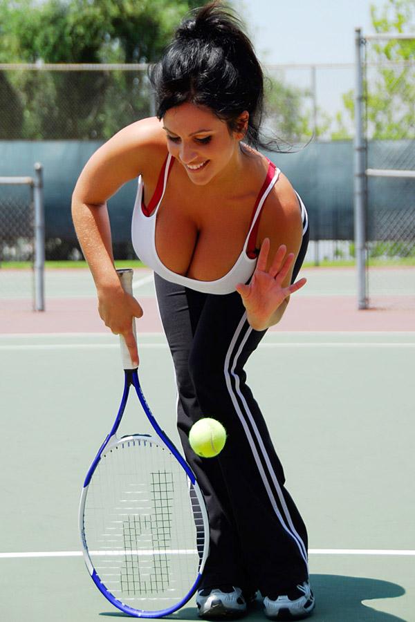 Sexy Tennis Tits