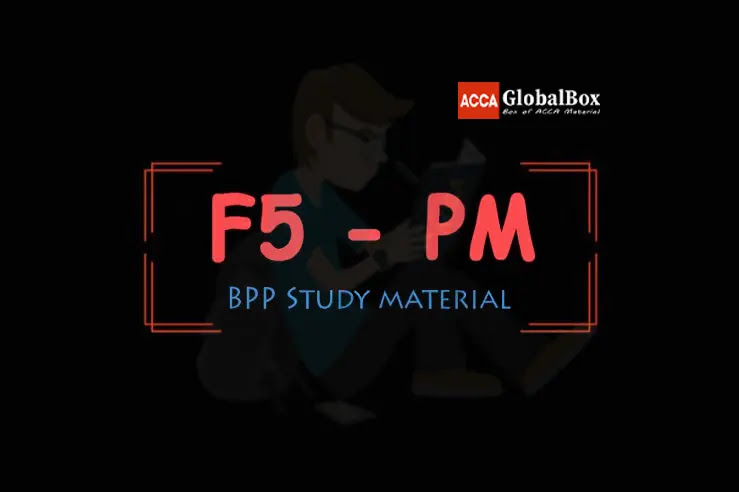 F5 - Performance Management (PM) | BPP Study Material, ACCAGlobalBox and by ACCA GLOBAL BOX and by ACCA juke Box, ACCAJUKEBOX, ACCA Jukebox, ACCA Globalbox