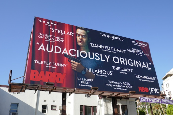 Barry season 2 Audaciously original FYC billboard