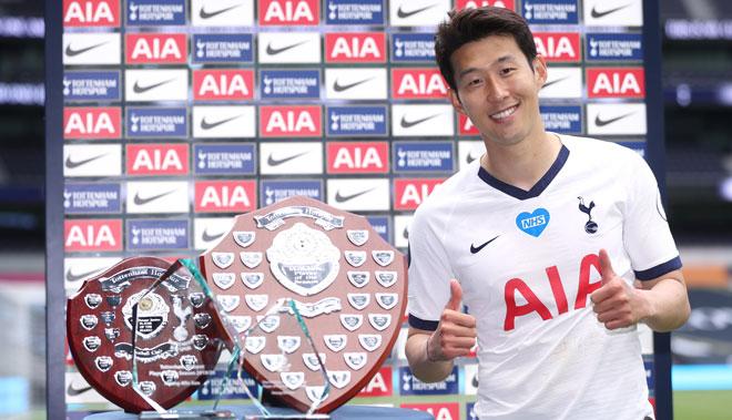 Son Heung Min lại khiến châu Á tự hào, thống trị giải thưởng ở Tottenham
