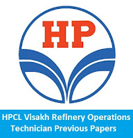 HPCL Visakh Refinery Operations Technician Previous Papers