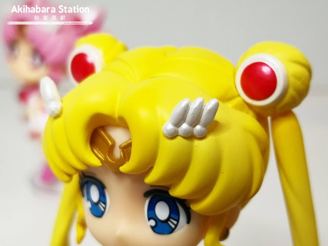 Review de las Figuarts Mini Super Sailor Moon y Super Sailor Chibi Moon - Tamashii Nations