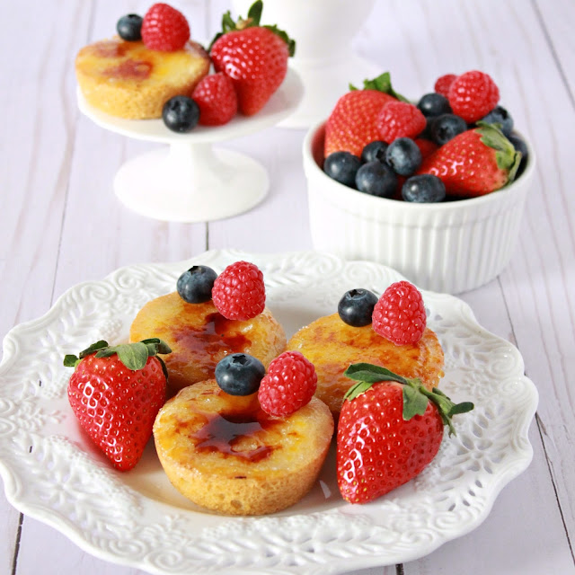 Crème Brûlée Cookie Cups from LoveandConfections.com
