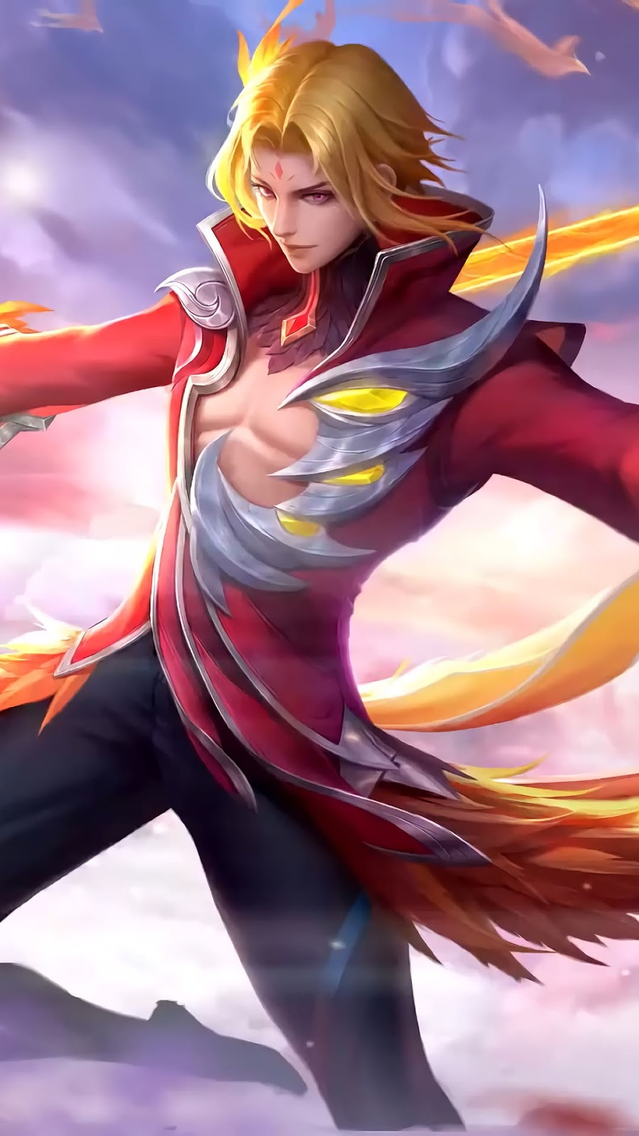 Wallpaper Ling Fiery Dance Skin Mobile Legends HD for Android and iOS