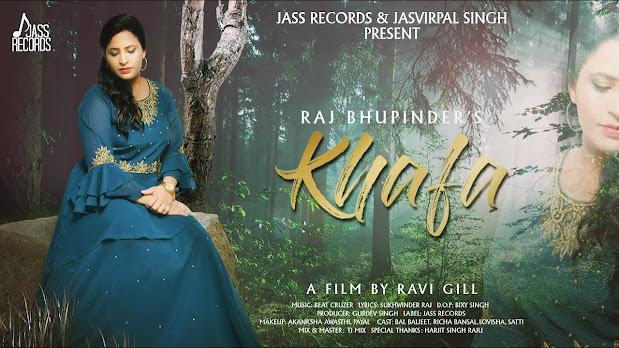 Khafa Song Lyrics | Raj Bhupinder | Ravi Gill | New Punjabi Songs 2020 | Jass Records Lyrics Planet