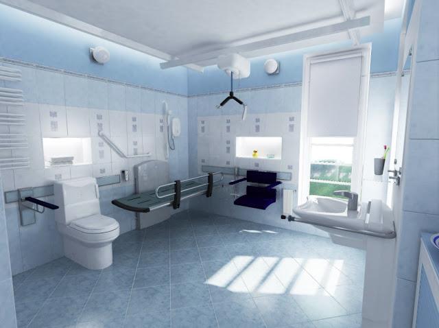 handicap accessible bathroom design ideas