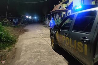 Kanit Sabhara Polsek Curio Galakkan Patroli Blue Light Pantau Kamtibmas