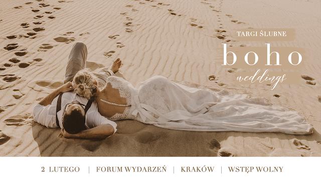 Marzysz o ślubie w stylu boho? Targi boho weddings to miejsce dla Ciebie!